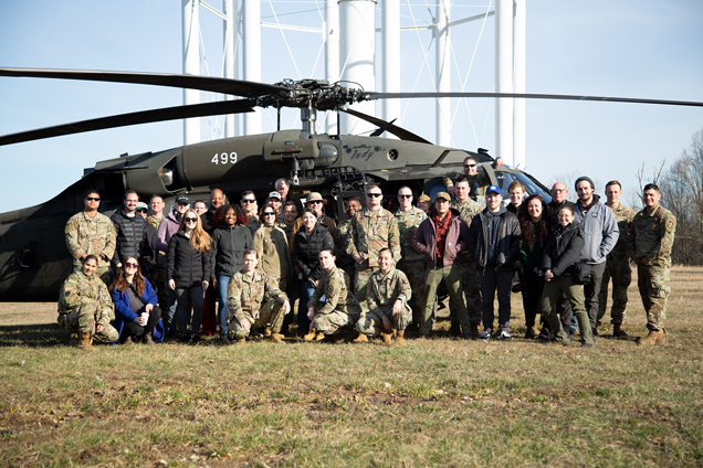iostudio's video production crew at the Army National Guard video shoot